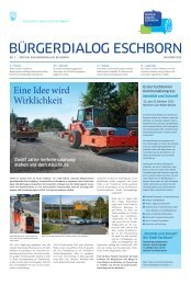 Identität und Zukunft - Stadt Eschborn