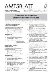 EINLADUNG gemäß § 6 (3) der Satzung zur 42 ... - Frankfurt am Main