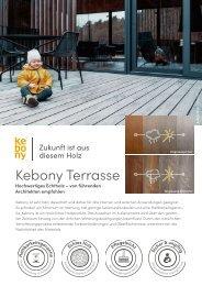Kebony Produkte Terrasse