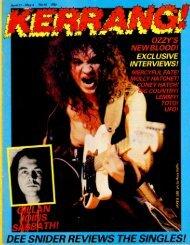 Kerrang - 40 1983
