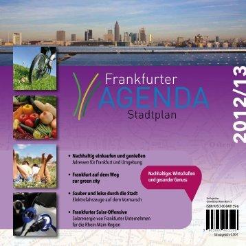 Agenda Stadtplan 2012 als PDF - Frankfurt am Main