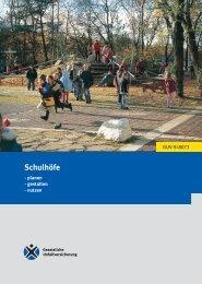 GUV-SI 8073 - Schul-Information Schulhöfe - Sichere Schule