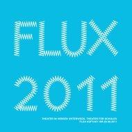 Programm der FLUX-Auftakttagung am 29. August 2011