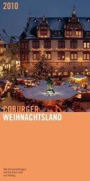 coburger Weihnachtsland 2010 - Stadt Coburg