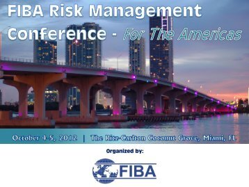 Douglas W. Roeder - FIBA Risk Management Conference
