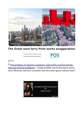 "Sadiq's ""Poor Doors"" Bung! a Westferry Printers/ Friary Park  Saucy Comparison"