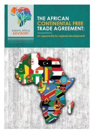 The African Continental Free Trade Agreement