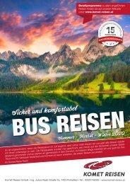 Prospekt Busreisen 2020