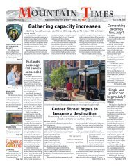 Mountain Times - Volume 49, Number 26 - June 24-30, 2020