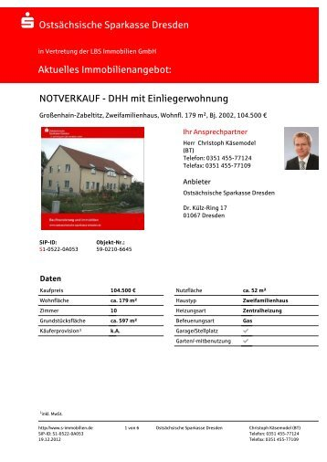 S-Immobilien 59-0210-6645 - Sparkassen-Immobilien
