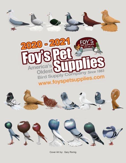 2020-2021 Foy's Pet Supplies Catalog