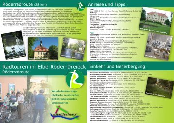 Faltblatt Röder - Stadt Grossenhain