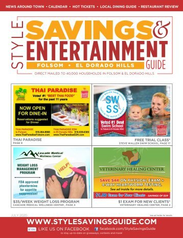 Style Savings and Entertainment Guide-July 2020