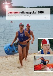 Juniorenrettungspokal 2010 - DLRG Landesverband Westfalen eV
