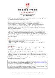 HS Programm Karina Wagner_Yoga des Herzens_Herbst_2020
