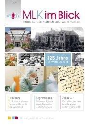 125 Jahre - Martin Luther Krankenhaus Bochum