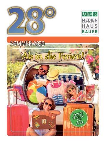 28 Grad - Sommer 2020