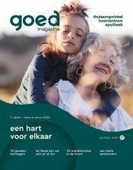 Goed Magazine - 1e editie - lente/zomer 2020