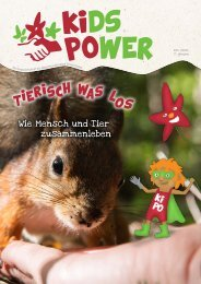 KidsPower: Tierisch was los