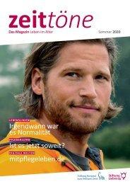 Zeittöne Sommer 2020 - Stiftung Liebenau