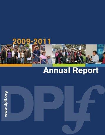2009-2011 Annual Report - Fundación para el Debido Proceso