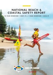 SLSNZ NATIONAL Beach & Coastal Safety Report