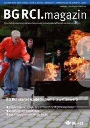 BG RCI Magazin Ausgabe 9/10 2011 - Berufsgenossenschaft ...