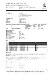 GUTACHTEN zur ABE Nr. 45531 nach §22 Stvzo Anlage 2 zum ...