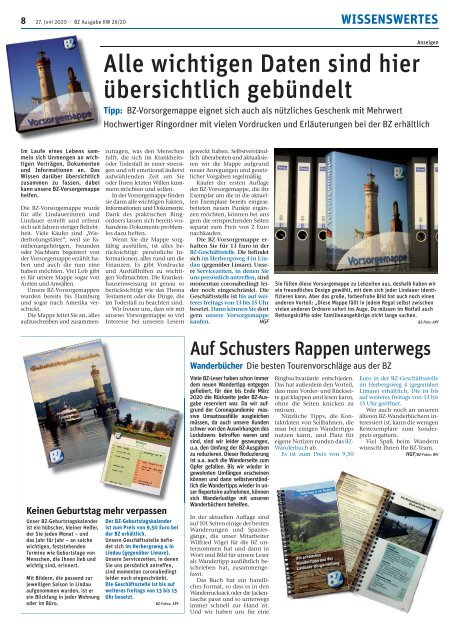 27.06.2020 Lindauer Bürgerzeitung