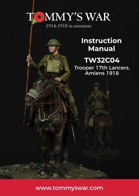 TW32C04 - Trooper, 17th Lancers, Amiens 1918