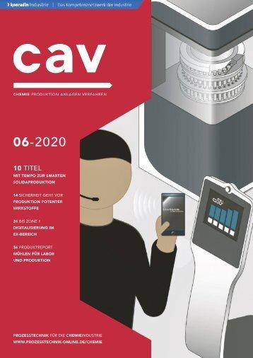 cav – Prozesstechnik für die Chemieindustrie 06.2020