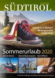 Südtirol Magazin Sommer 2020 - NZZ