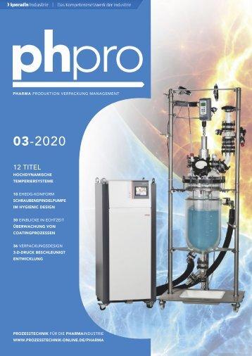 phpro – Prozesstechnik für die Pharmaindustrie 03.2020