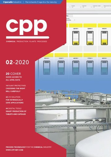 cpp – Process technology for the chemical industry 02.2020