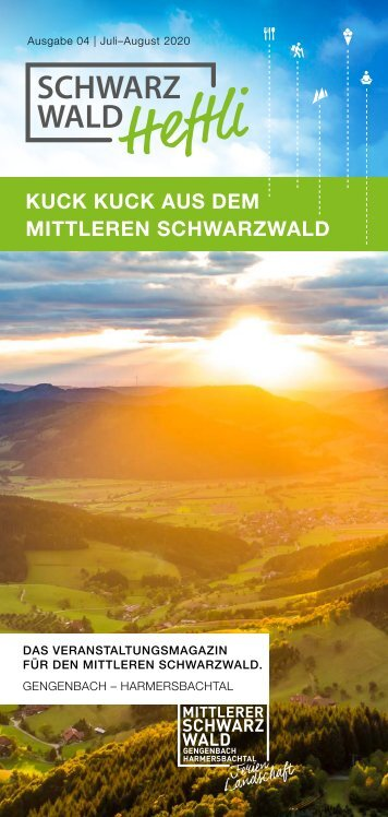 Schwarzwald-Heftli Ausgabe4 Juli-August 2020