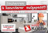 Meine Küche Köthen sucht Bauherren und Renovierer
