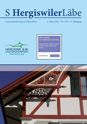 S Hergiswiler Läbe online {PDF 0.785 - Peter Helfenstein