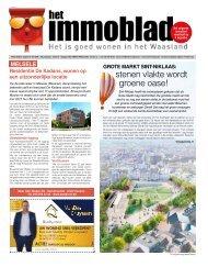 Het Immoblad van 1 juli  2020