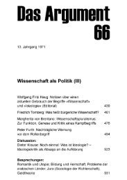 Wissenschaft als Politik (III) - Berliner Institut für kritische Theorie eV