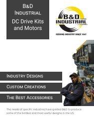 2020 DC Drive Kits and DC Motors
