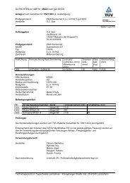 GUTACHTEN zur ABE Nr. 45622 nach §22 Stvzo Anlage 2 zum ...