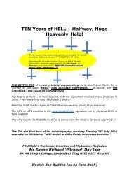 TEN Years of Hell–Halfway, Huge Heavenly Help