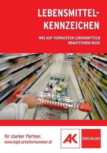 LEBENSMITTEL- KENNZEICHEN - Arbeiterkammer