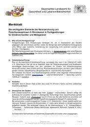 Merkblatt - Bayerisches Landesamt für Gesundheit und ...