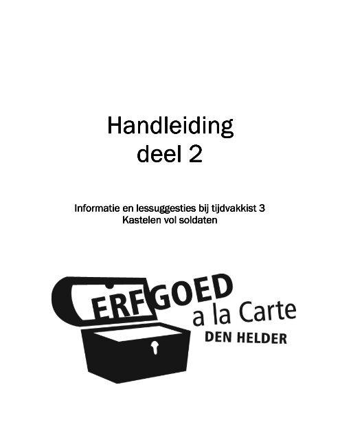 informatie - Erfgoed à la Carte Den Helder