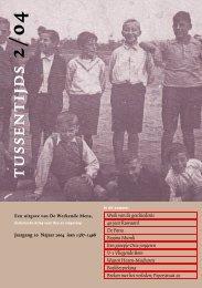 Een groepje Osse jongeren in 1934 - Stichting De Werkende Mens
