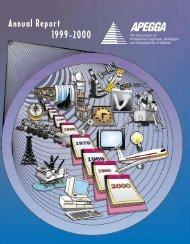 Annual Report 1999-2000 - Apegga
