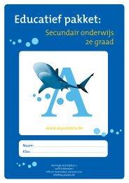 Educatief pakket: - Aquatopia