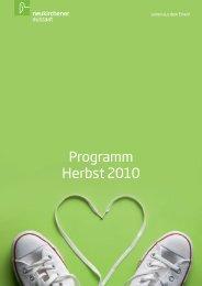 Programm Herbst 2010 - Neukirchener Verlagsgesellschaft
