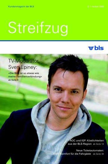 TV-Moderator Sven Epiney: - BLS AG